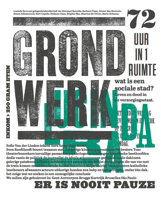 Lucinda Ra - Grondwerk - 22>24/02 © Mario Debaene