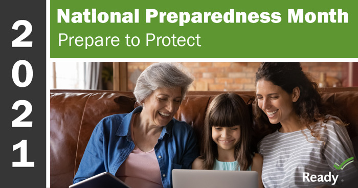 Preview: National Preparedness Month: Prepare to Protect