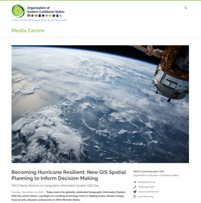 Becoming Hurricane Resilient: New GIS Spatial Planning to Inform Decision Making