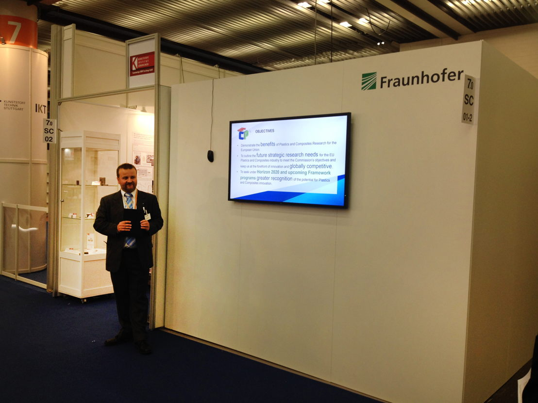 Introduction to SRA for the European Plastics and Composites Industry was presented at K 2016
