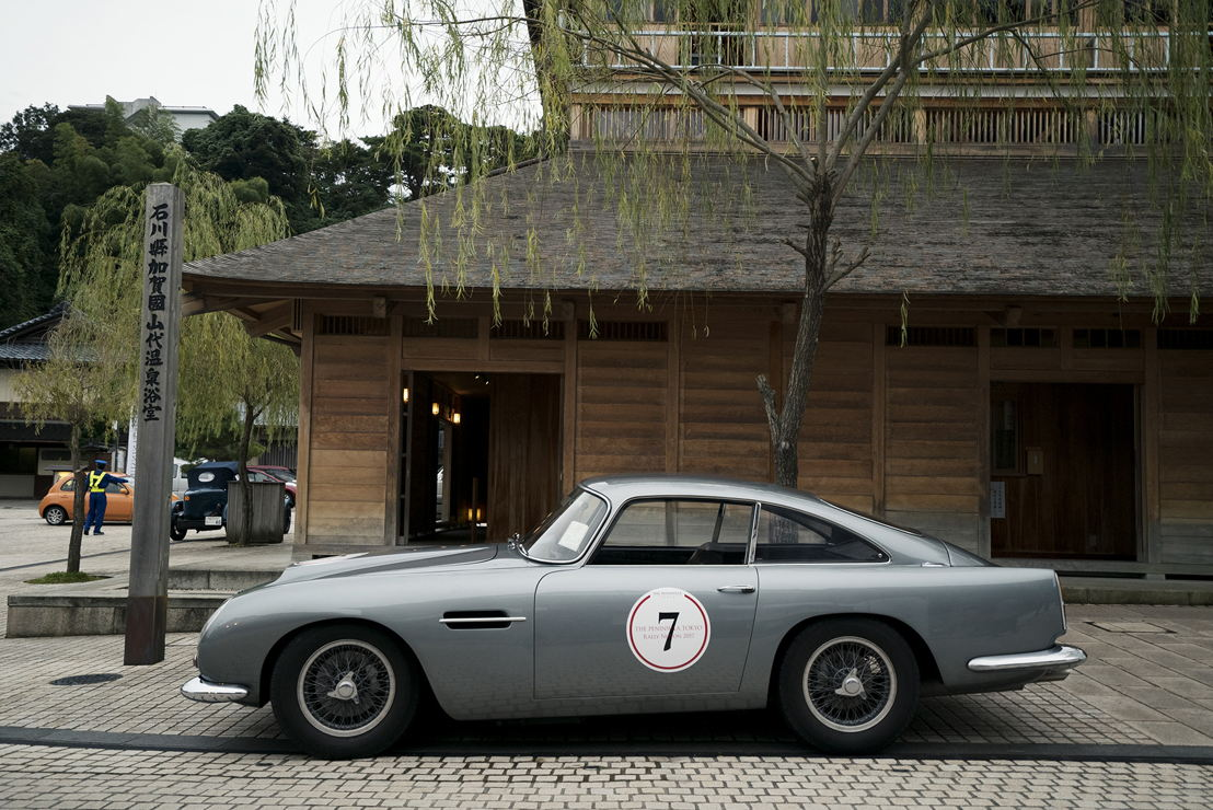 Car model: 1961 Aston Martin DB4 GT