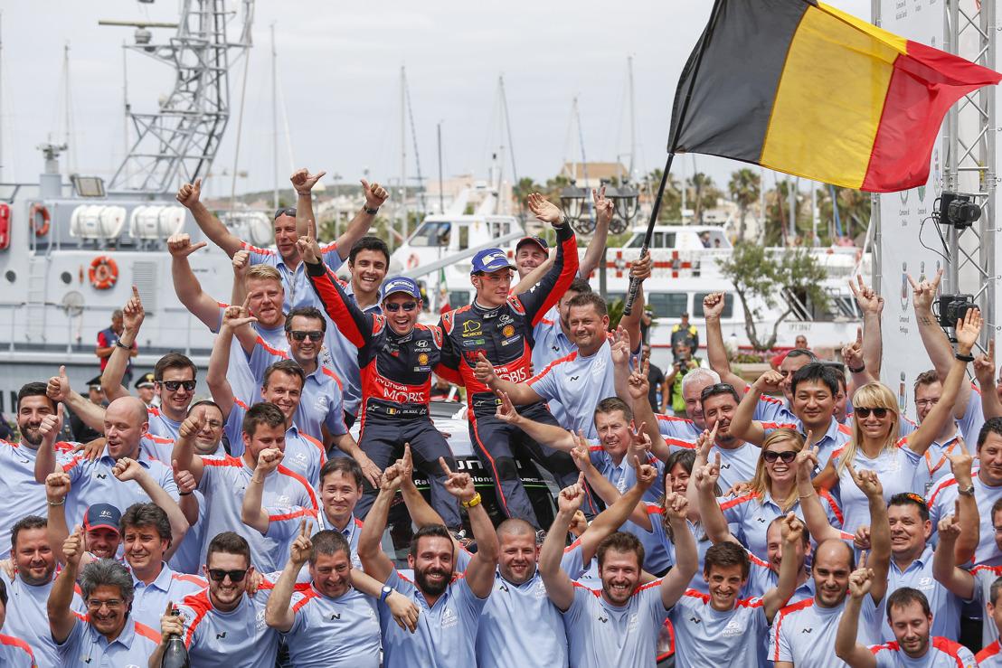 (Comunicato disponibile solo in inglese) Hyundai Motorsport scores victory as Neuville shoots the winner in Sardinia