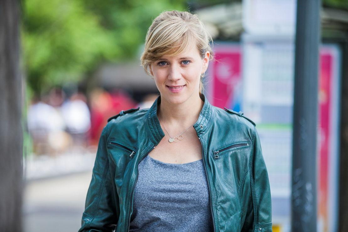 reporter Lauwke Vandendriessche - (c) Bart Musschoot