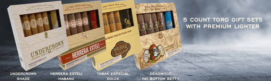 Drew Estate Unveils Four New Gift Sets