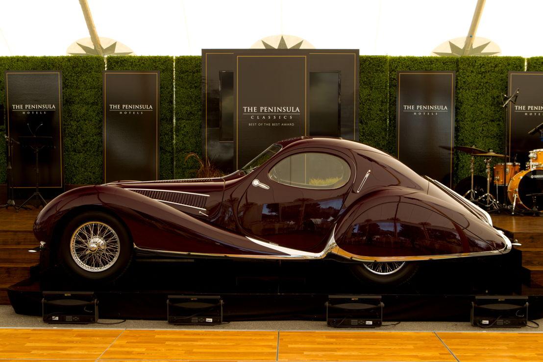 The Peninsula Classics Best of the Best Award Winner 1937 Talbot-Lago T150 C SS