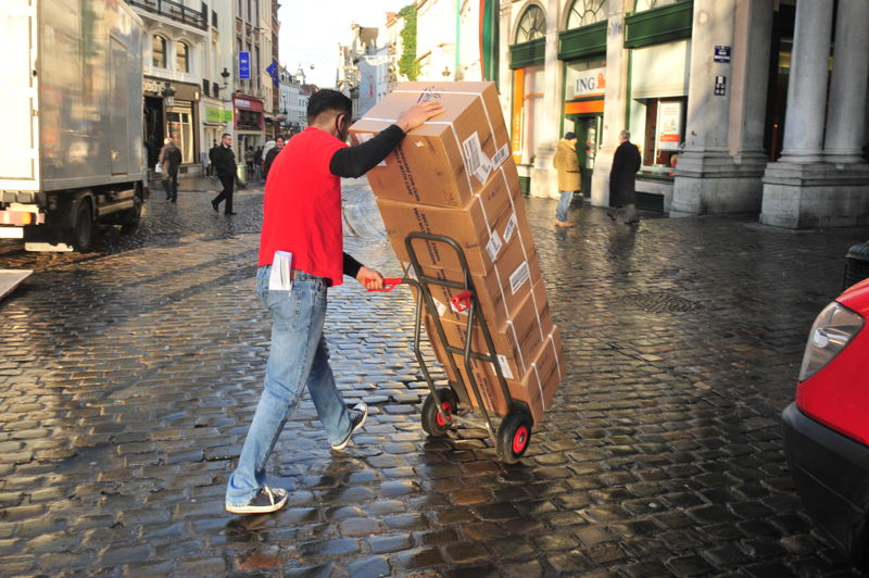 Brussels - Winner of the 5th SUMP Award on urban freight