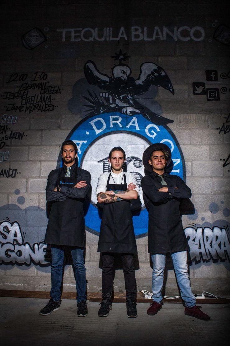 Jaime Morales, Irael Orellana y German Ortega