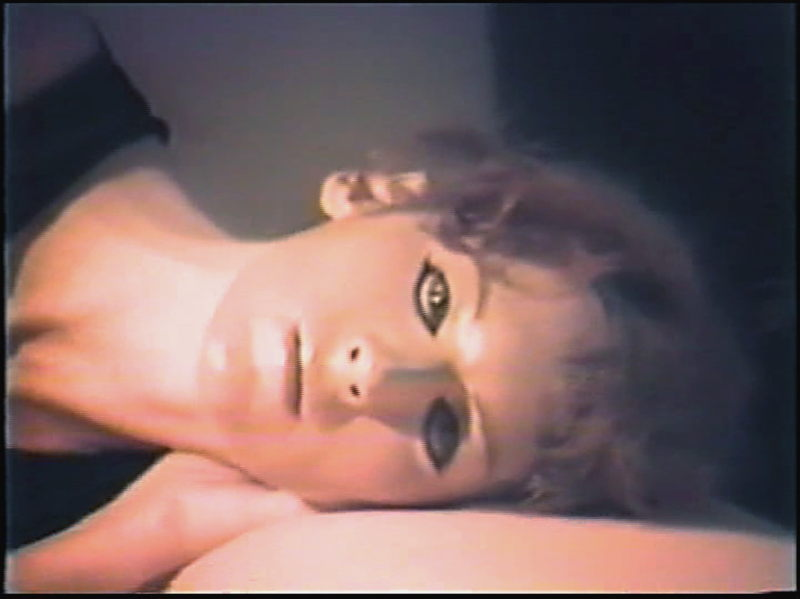 The Bridegroom by Guy de Cointet, video of a posthumous rehearsal with Tery Arnold (c) Jane Zingale & Tery Arnold, 1984