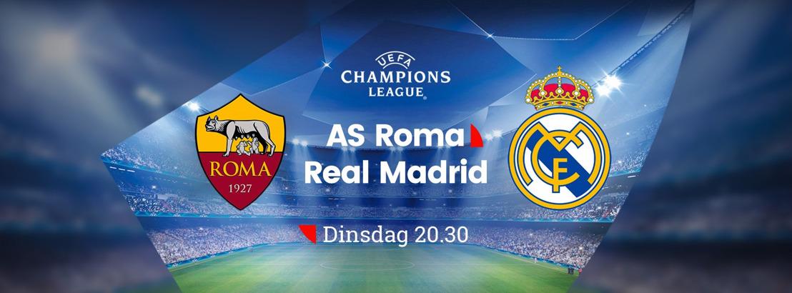 'Ontdekker' van Thibaut Courtois analist tijdens AS Roma - Real Madrid