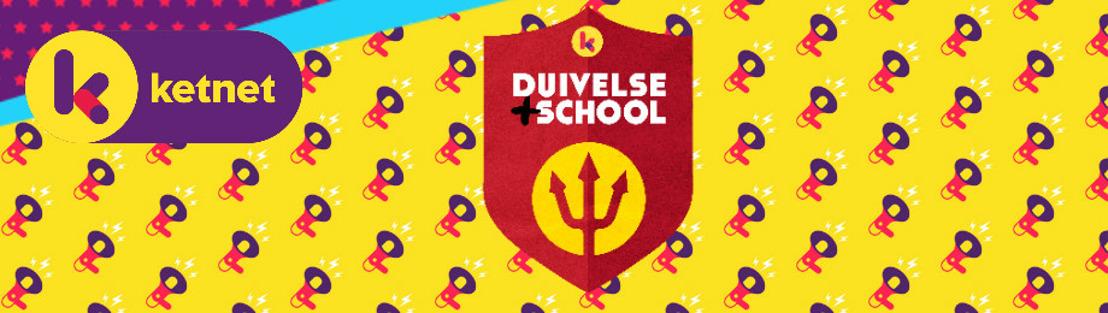 De Rode Duivels lanceren samen met Ketnet de Duivelse +schoolactie