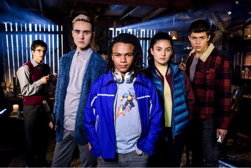William McKenna, Jordie Race-Coldrey, Kamil Ellis, Luca Sardelis and Jo Klocek - the new cast of Nowhere Boys: Two Moons Rising