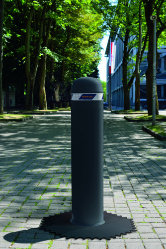 OktaBlock, la barrière mobile pour véhicules de Hörmann