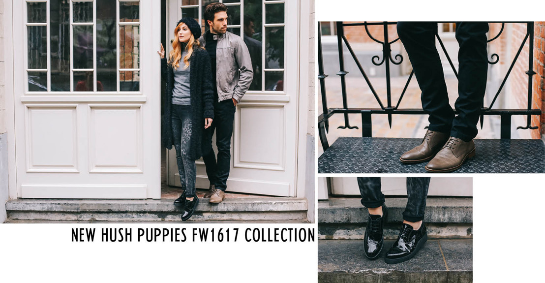 New Hush Puppies FW1617 collection