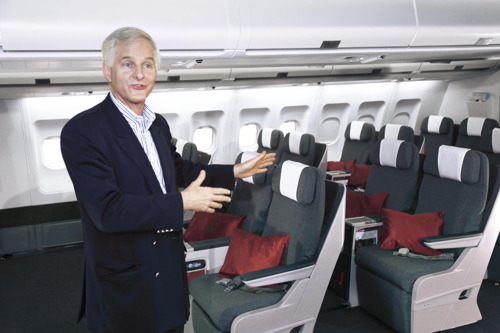 Cathay Pacific unveils new Regional Business Class