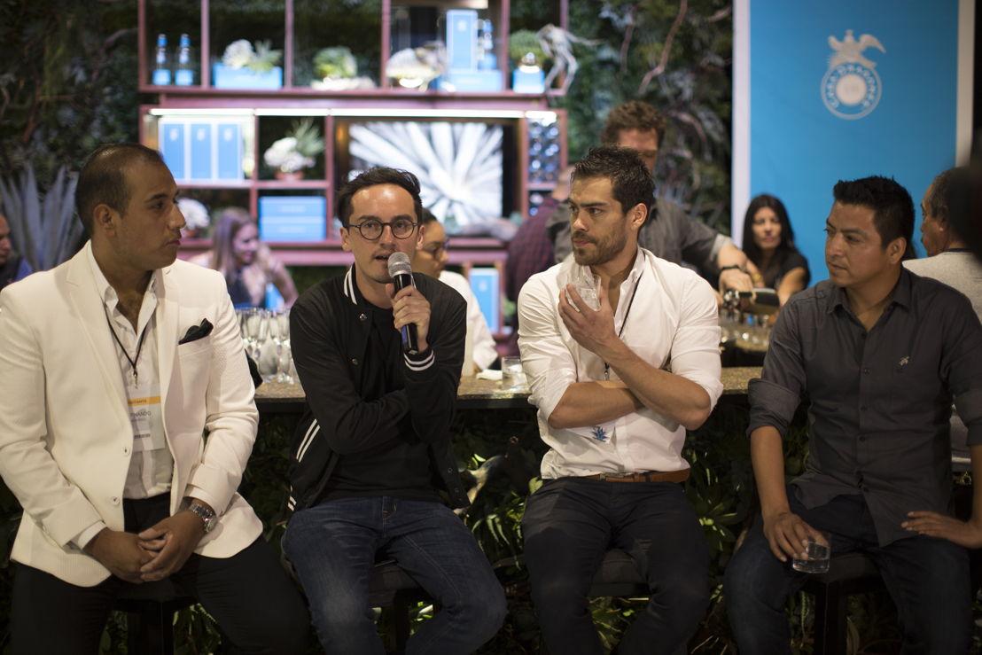 Chef Lucho Martinez de Mia Domenicca, David Hernandez de The Resort Pedregal, Fernando Acevedo de Jules e Ivan Gonzalez de Balmori