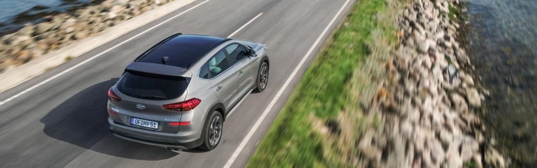 New Hyundai Tucson biedt elektrische ondersteuning dankzij baanbrekende 48-volt diesel mild-hybride aandrijflijn