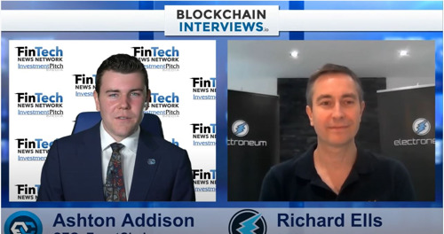CRYPTO COIN SHOW|Blockchain Interviews - Richard Ells, CEO & Founder of Electroneum