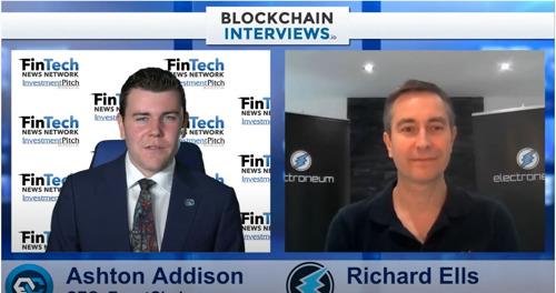 CRYPTO COIN SHOW|Blockchain Interviews - Richard Ells, CEO & Founder of Electroneum