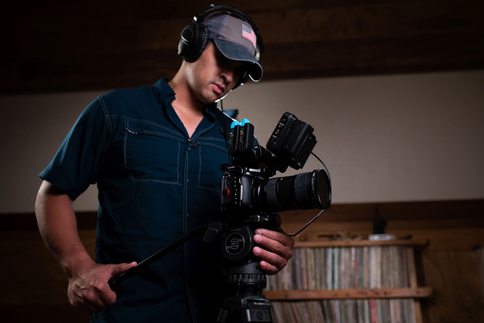 Filmmaking webinar by Sennheiser and Panasonic LUMIX