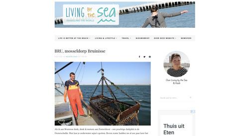 Vlaamse blog Living By The Sea over het Mosseldorp