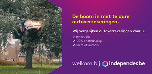 DPG Media lanceert verzekeringssite Independer nu ook in België
