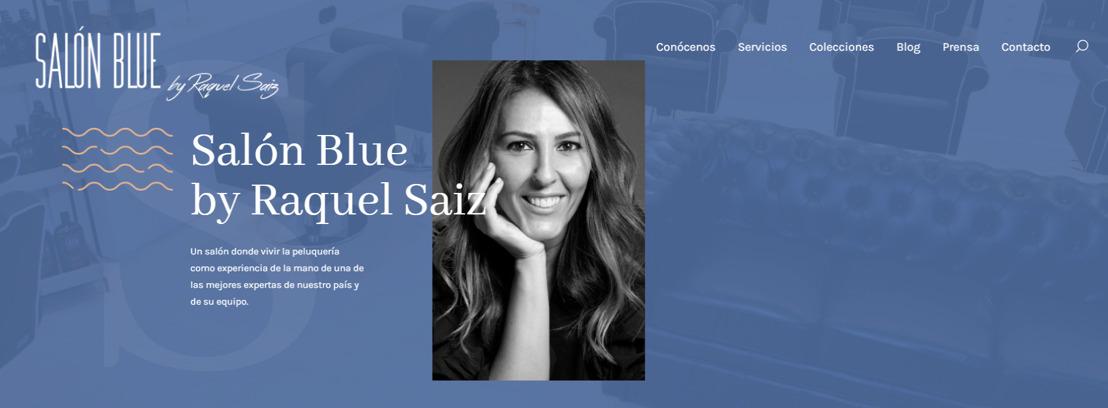 Salón Blue by Raquel Saiz presenta su nueva web