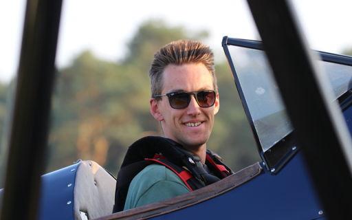 Hobbypiloot Pieter Daems wil ook als bankier een hoge vlucht nemen