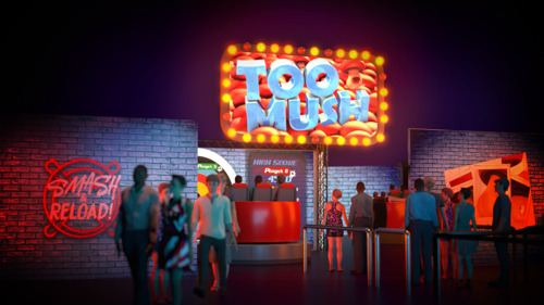 BoldMove presents new IP 'TooMush' for Smash & Reload dark ride family