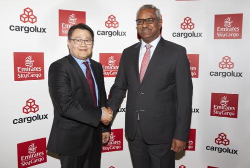 Emirates SkyCargo and Cargolux announce landmark cargo partnership agreement