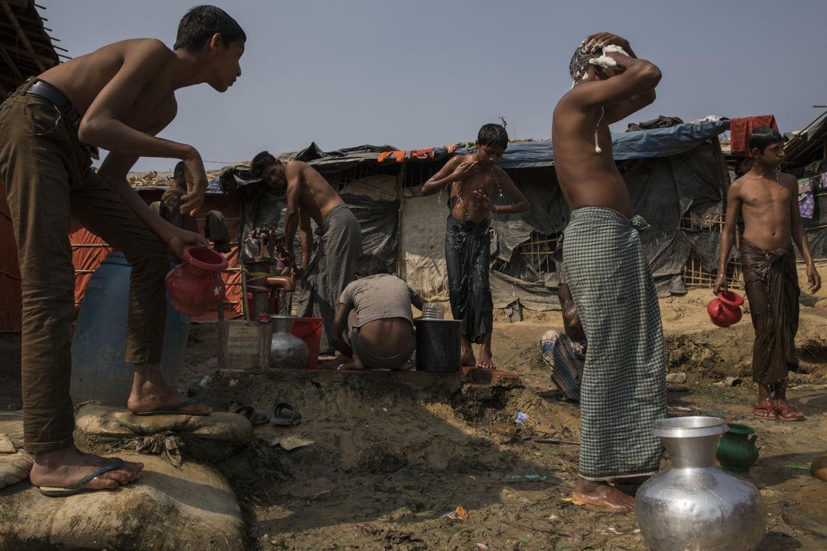 Vista del asentamiento de refugiados de Jamtoli. © Anna Surinyach