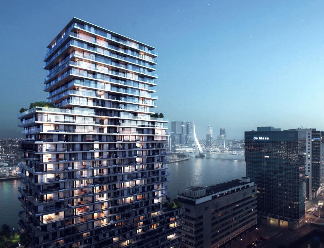 Nouvelle contribution de BESIX à la skyline de Rotterdam