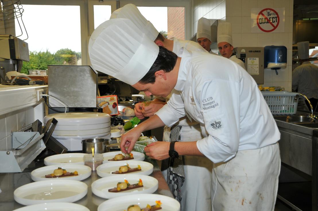 Jeunes talents dans les finales de « Premier Cuisinier » et « Premier Maître d'hôtel de Belgique 2018 »