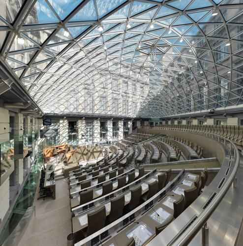 Ontdek het Vlaams Parlement tijdens de Urban Walk Brussels