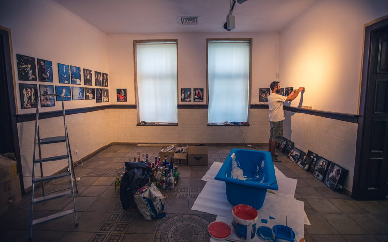 """making of """"O călătorie spre buricul pământului"""". foto: Iulian Alexandru Popa"""