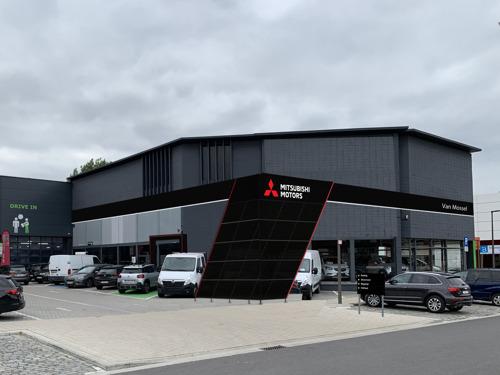 Van Mossel, nouveau concessionnaire Mitsubishi à Anvers