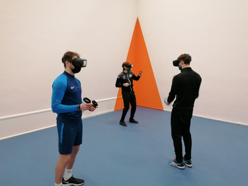 VUB: Brand new virtual reality box for pioneering research into virtual sports