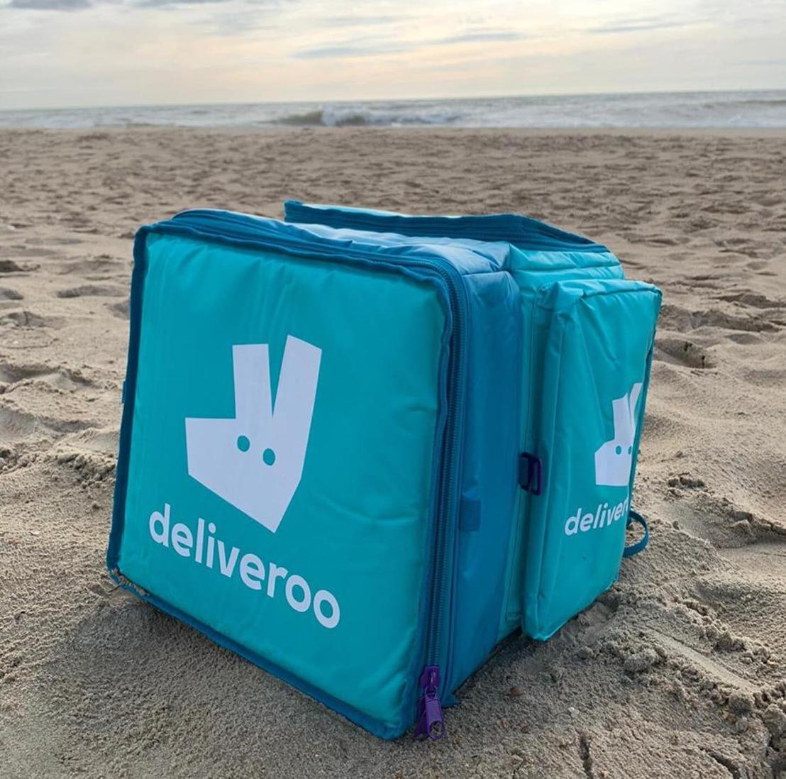 Deliveroo is vanaf vandaag beschikbaar in Oostende!
