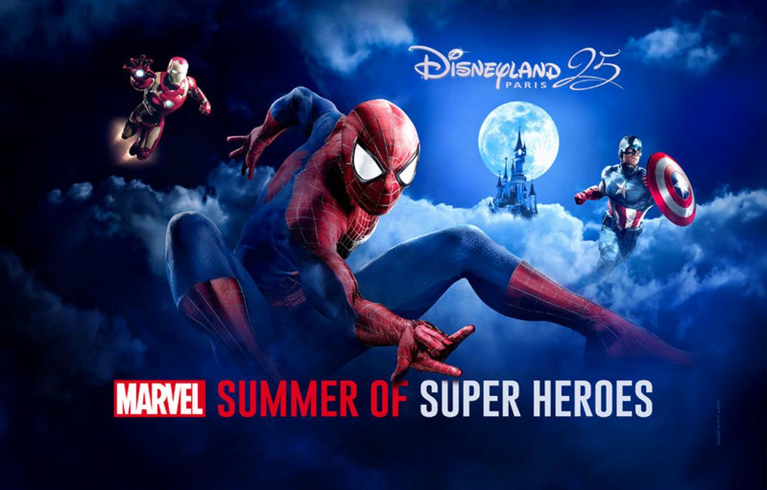 Exclusief: deze zomer komen de Marvel Superhelden naar Disneyland® Paris