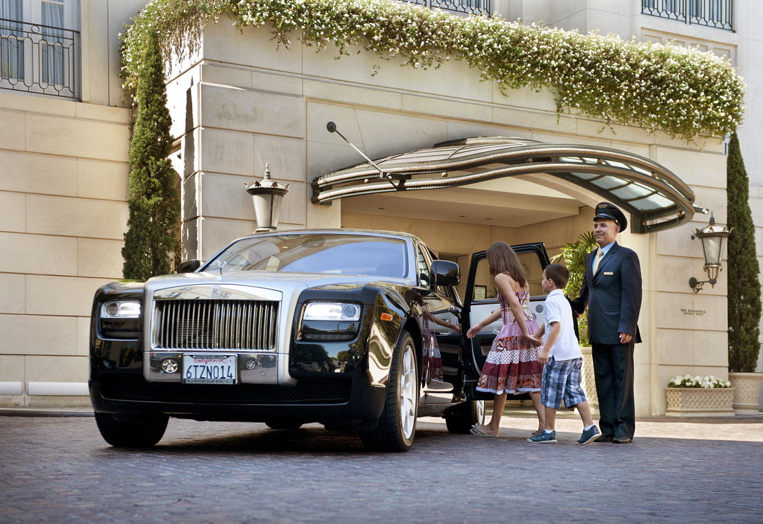 The Peninsula Beverly Hills Kids Rolls
