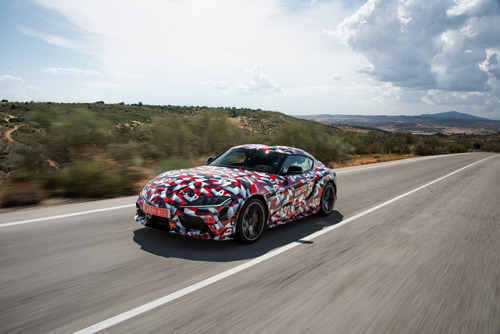 Les réservations de la nouvelle Toyota Supra partent très vite: plus que 8 voitures disponibles