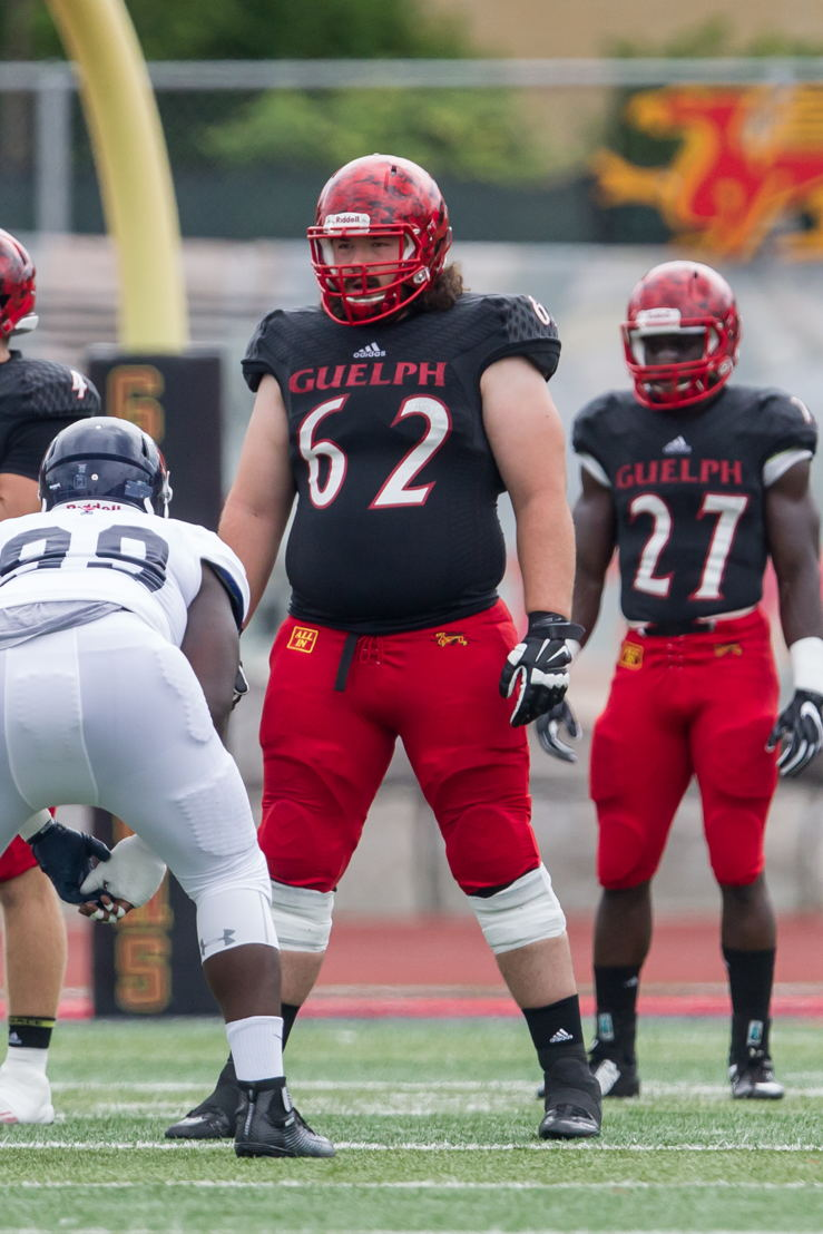 No. 15 OL Andrew Pickett Guelph (Photo Credit: Kyle Rodriguez/University of Guelph)