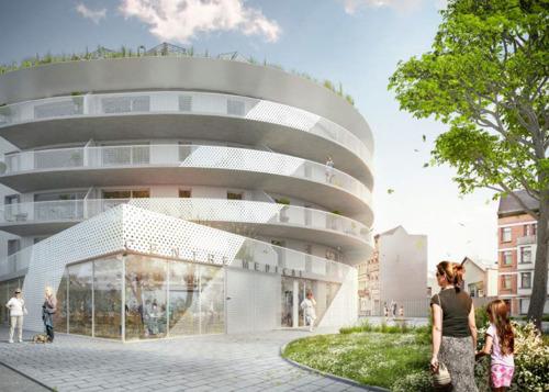"""Bouwvergunning voor het project """"Grondels"""" in CityGate"""