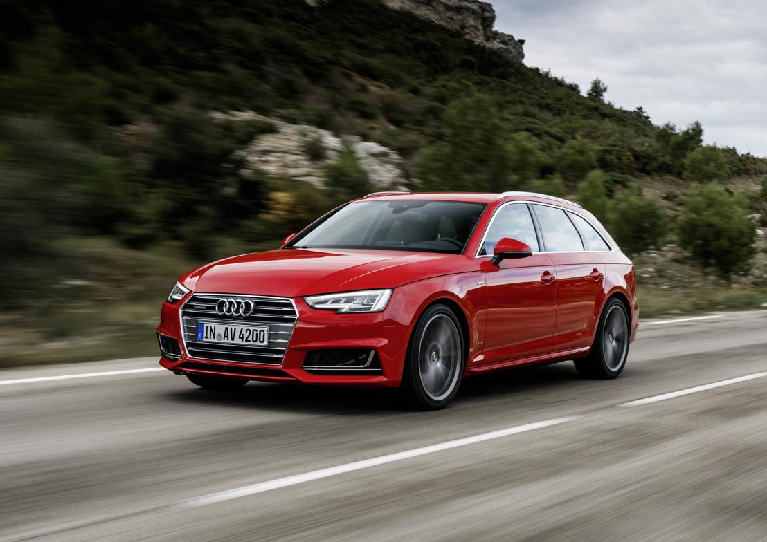 Vijf sterren voor de Audi A4 in Euro NCAPtest