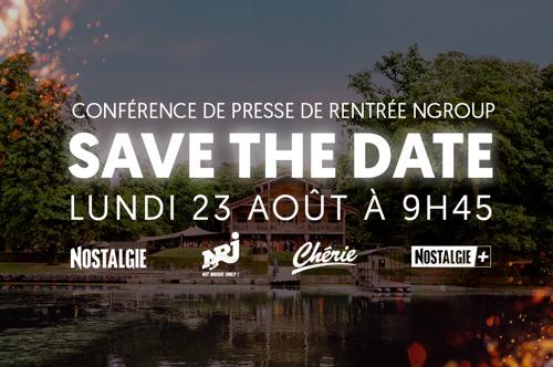 Conférence de rentrée NGroup - Save The Date - 23.08.2021