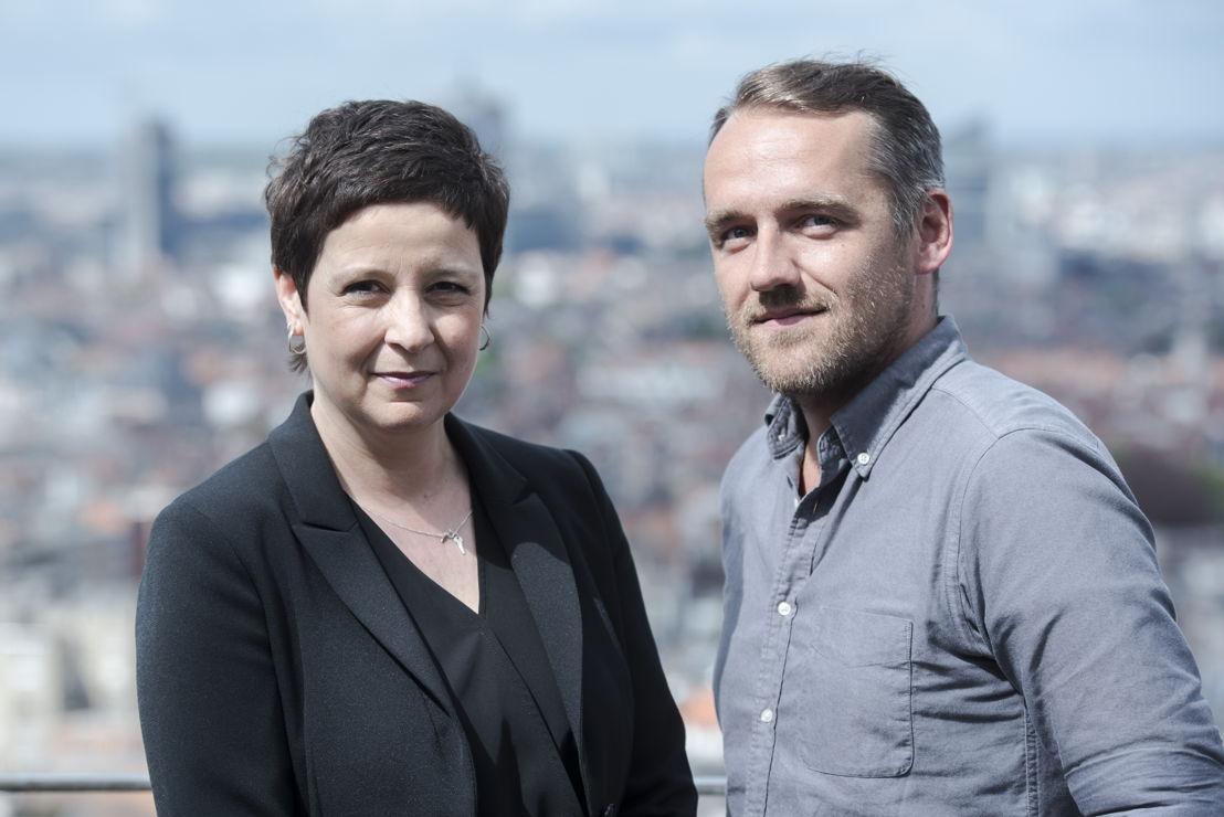 Kathleen Cools en Xavier Taveirne (c) VRT / Tom Cornille