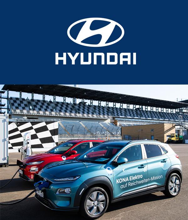 Hyundai KONA Electric establece nuevo récord de alcance de 1.026 kilómetros