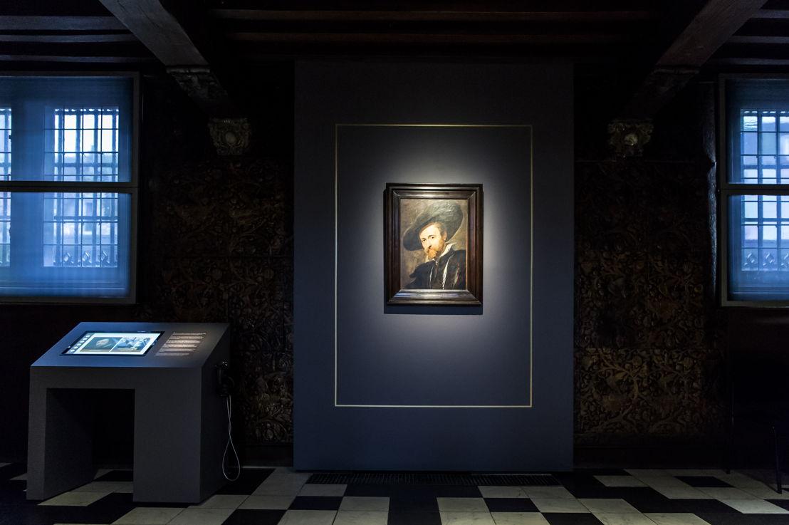 8_Peter Paul Rubens, Zelfportret, Rubenshuis Antwerpen, schilderij in situ na restauratie in KIK-IRPA, opname 13 april 2018, foto Sigrid Spinnox