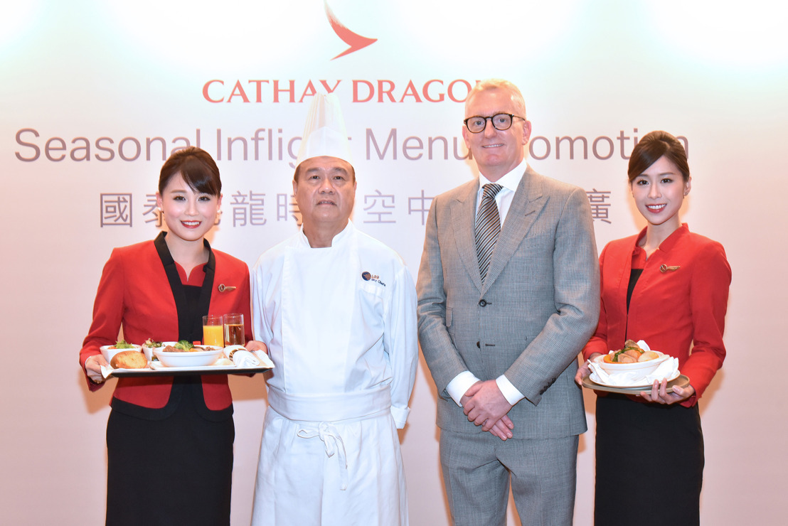 Cathay Dragon latest seasonal menu highlights the taste of Hong Kong Passengers can look forward to enjoying authentic Chinese favourites, including hot pot rice dishes and traditional poon choi onboard