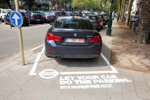 Nissan en TBWA sturen foutparkeerders de juiste boodschap