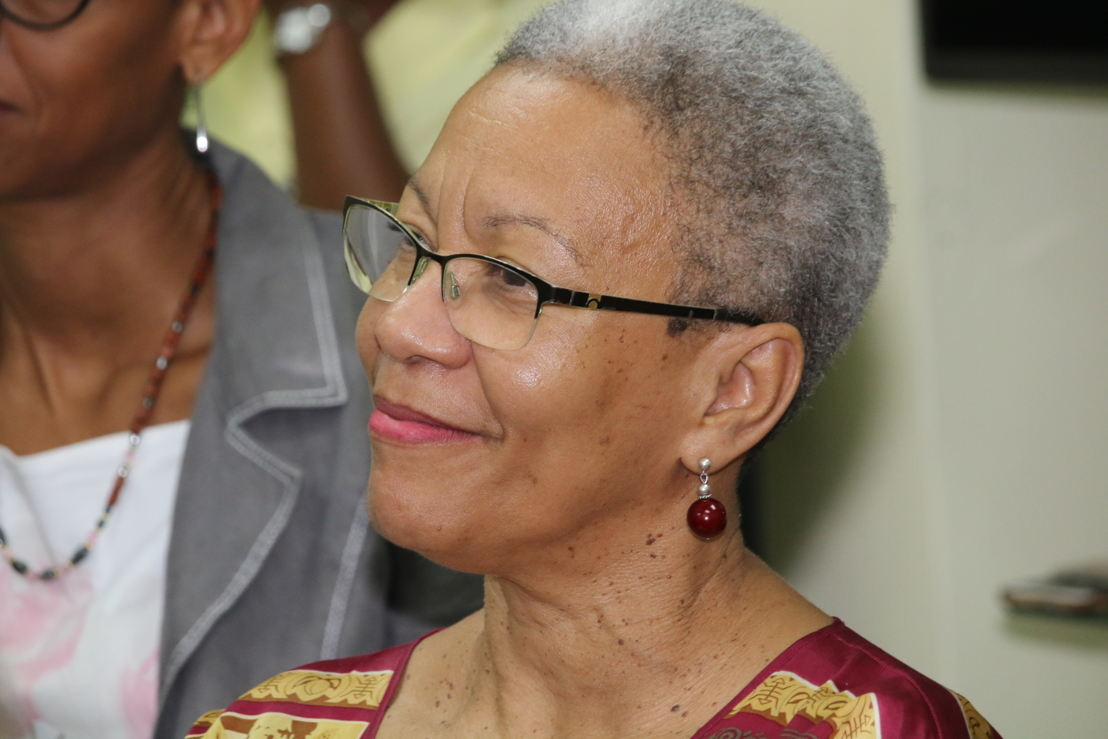 Ghislaine Moetus-Schuller, Educative Cooperation Officer at the Academy of Martinique